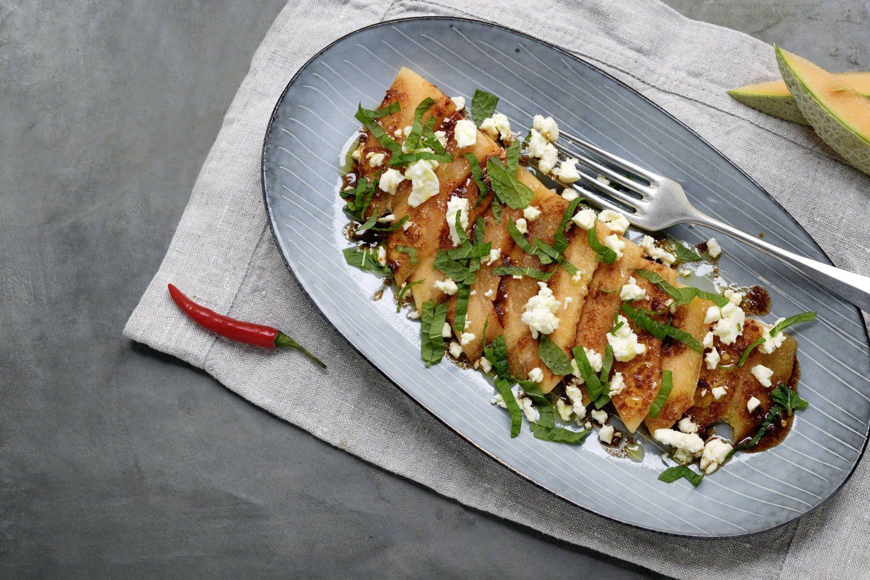Gegrillter Melonensalat mit VEGGY Hot+Sweet Kotányi