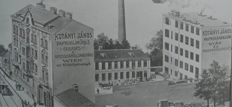 alte Kotányi Fabrik in Ungarn