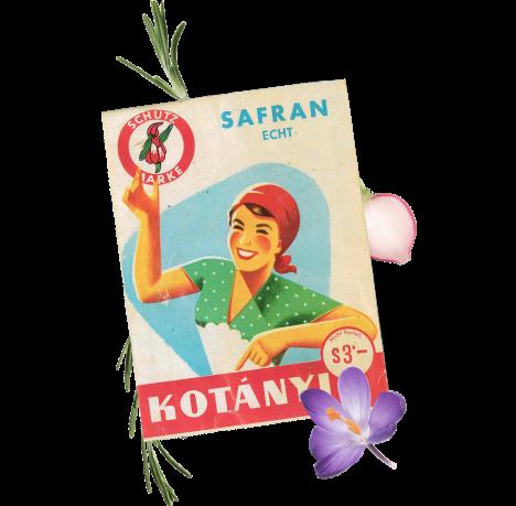 Пакетик спецій Kotányi, 1970-тірр.