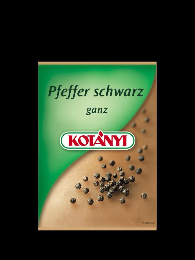 Пакетик чорного перцю Kotányi, 2000-ті рр.