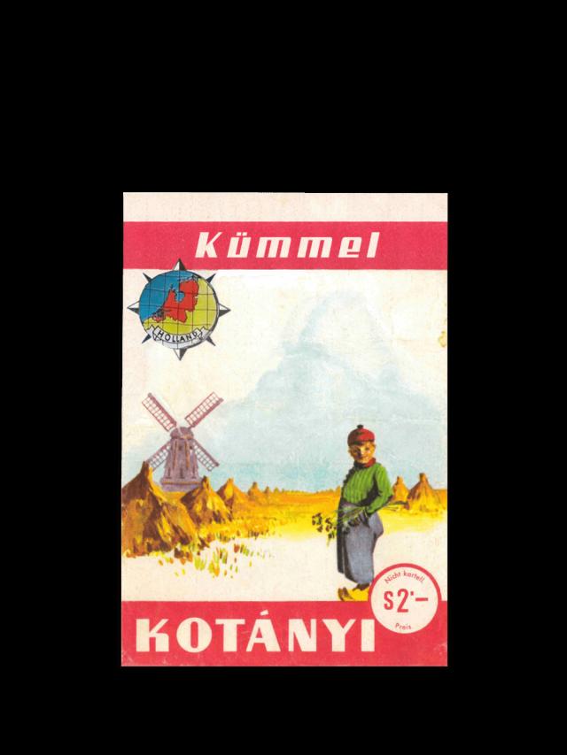 Пакетик кмину Kotányi, 1961р.